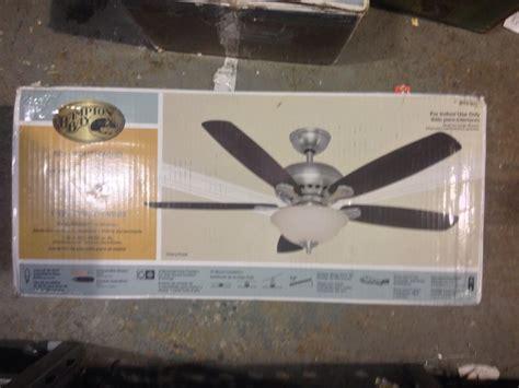 Hton Bay Southwind Ceiling Fan Manual by Hton Bay 52379 Southwind 52 In Brushed Nickel Ceiling