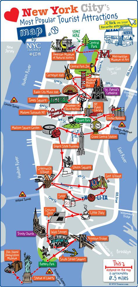 Carte De Touristique à Imprimer by Carte Touristique New York 224 Imprimer Photo Du Monde