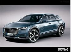 Production Audi Q6 Rendered Based on the etron quattro