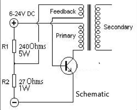 Understanding Single Transistor Flyback Transformer