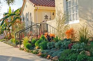 Spanish Drought Tolerant Garden Contemporary Landscape