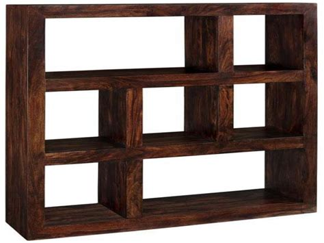 Bookcase Wooden, Solid Wood Bookcases Shelves Contemporary