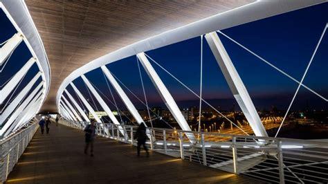 Beersheva's Double-helix Footbridge Wins International