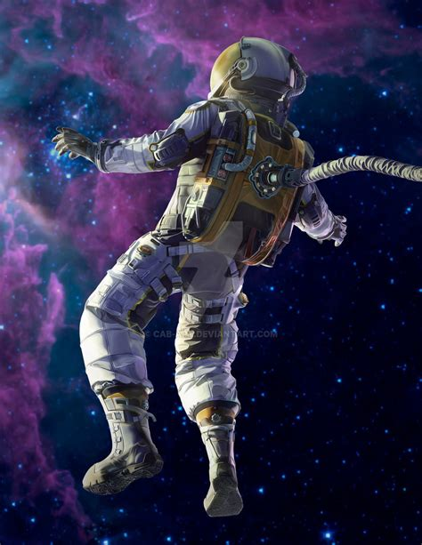 astronaut in space drawing astronaut by cab on deviantart