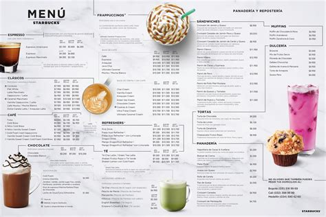 Starbucks menu starbucks menu with price list ndtv food. Menú Online | Starbucks Coffee Company
