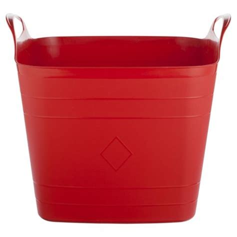 buy plastic tubs buy 40l plastic flexi tub with handles from our