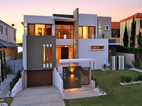 rumah minimalis modern dua lantai keren