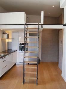 les 25 meilleures idees concernant escalier escamotable With good escalier de maison exterieur 9 amenagement mezzanine