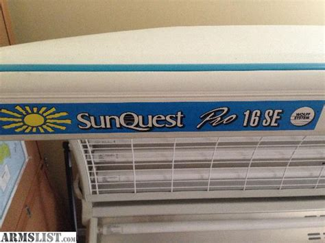 sunquest pro 16se tanning bed images