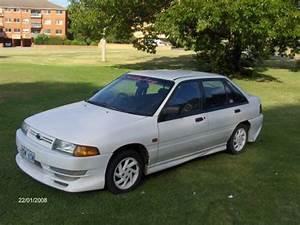 1990 Used Ford Laser Kf Hatchback Car Sales Queanbeyan Nsw