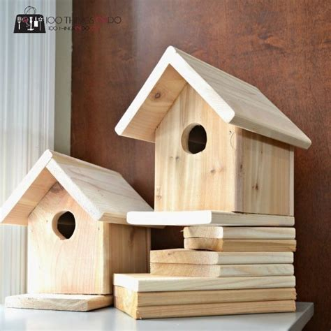 wooden bird houses plans  home plans design