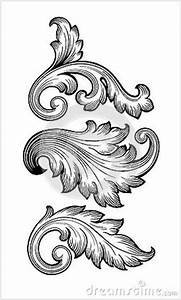 baroque leaf ornament - Google Search | Victorian ornament ...
