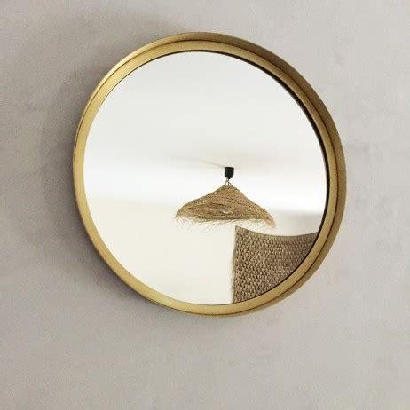 Grand Miroir Rond Grand Miroir Rond En M 233 Tal Dor 233 D 40cm