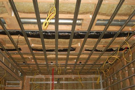 Drop Ceiling Options For Basements by Semi Soundproofing Basement Ceiling Gearslutz Pro Audio