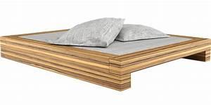 Design Bett Holz : bett somnium minimalistisches design bett von rechteck ~ Orissabook.com Haus und Dekorationen