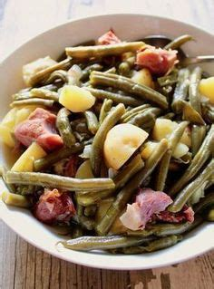 potatoes green beans  ham recipe sides