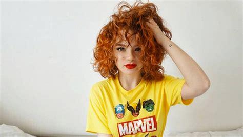 cheveux roux coupe courte tendance  cheveux magazine
