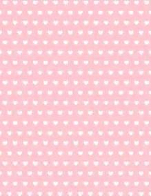 Pink Hearts Scrapbook Paper