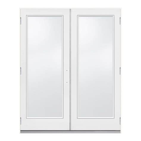 jeld wen 72 in x 80 in steel white prehung right
