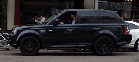 blacked  range rover sport land rover