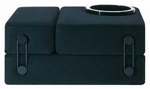 Lits D Appoint : chauffeuse convertible trix lit d 39 appoint noir kartell ~ Premium-room.com Idées de Décoration