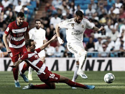 Madrid Vs Granada / Video: Benzema scores fine solo goal ...