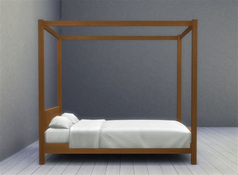 Double Canopy Bed Zipper Square Mosquito Net For Double
