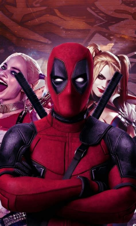 Deadpool And Harley Quinn 4k Wallpaper  Hd Wallpaper