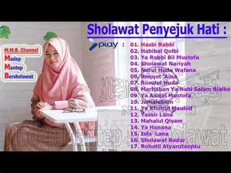 Nissa Sabyan  Ya Habibal Qolbi Full Album 2018 Youtube