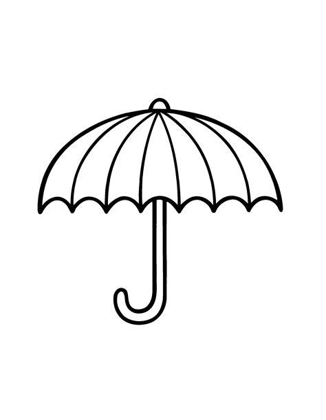 Kleurplaat Parasol by Kleurplaat Paraplu Zoeken Herfst Knutselen
