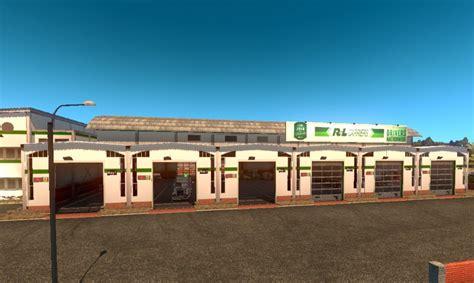 Rl Garage r l carriers garage ats truck simulator 2 mods