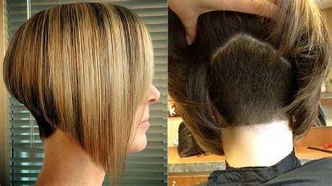 Nape Shave Hair Cut Women