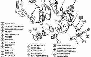 2000 Chevy Silverado Emergency Brake Cable Diagram