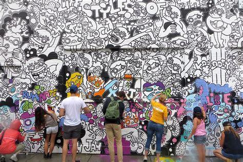 facing demolition fulton market street art turned