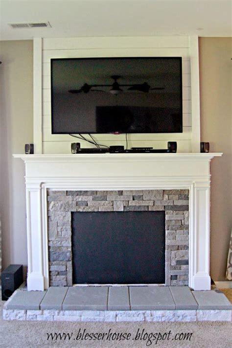 build  faux fireplace  mantel diy