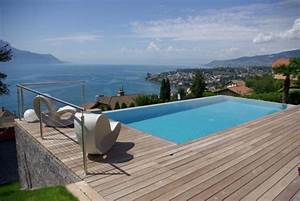 la piscine a debordement belles piscines de luxe With idee amenagement jardin avec piscine 9 la piscine 224 debordement belles piscines de luxe