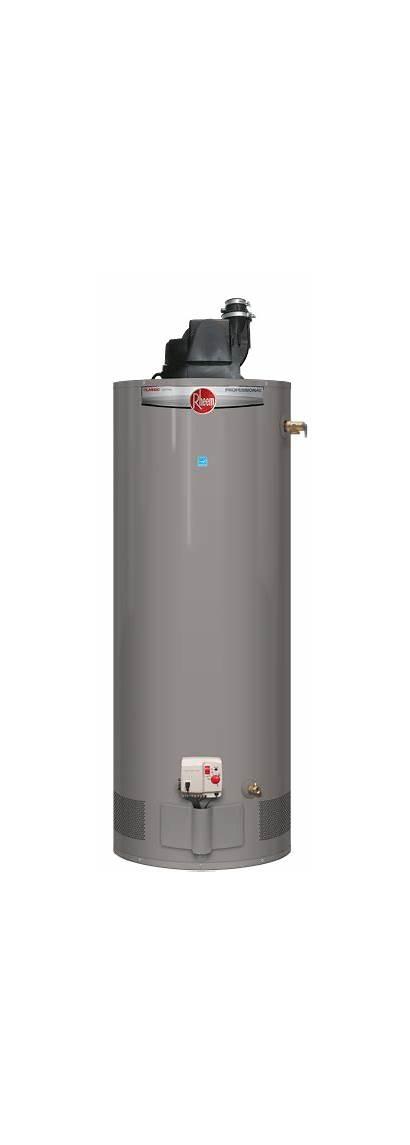 Heater Water Gas Rheem Vent Heaters Power
