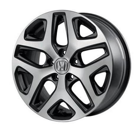 honda hr   diamond cut alloy wheels