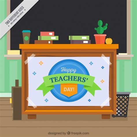 bureau enseignant enseignant bureau fond avec tableau noir télécharger des