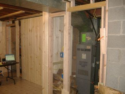How To Hide Furnace In Unfinished Basement  Google Search