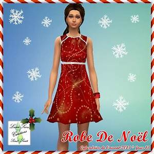robe de noel luna sims mes recolorations sims4 With robe noel taille 46