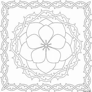 Printable Coloring Pages Patterns - Coloring Home