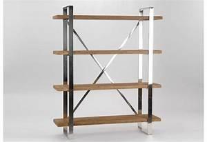 Etagere Metal Et Bois : etag re de style moderne industriel m tal et bois amadeus amadeus 1 ~ Teatrodelosmanantiales.com Idées de Décoration