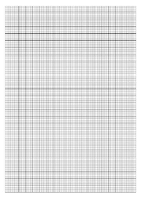 mm  square graph paper