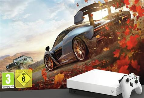 forza 4 xbox one white xbox one x forza bundle surfaces comes with forza motorsport 7 and forza horizon 4
