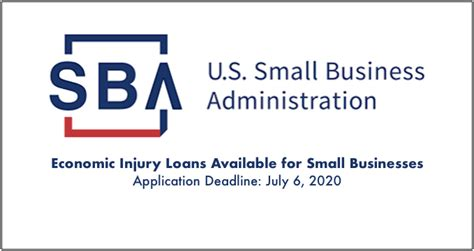 businesses   july  apply  economic injury