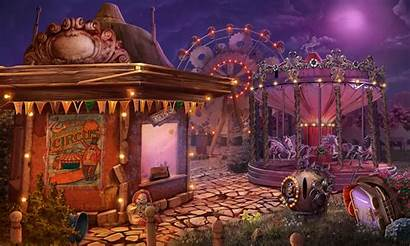 Scenery Background Carnival Circus Anime Interactive Episode