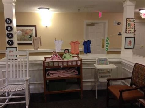 baby station  work   residents  dementia