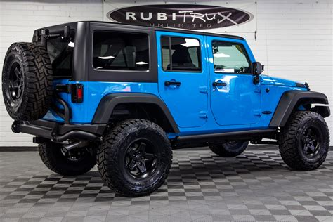 light blue jeep wrangler 2017 jeep wrangler rubicon unlimited chief blue