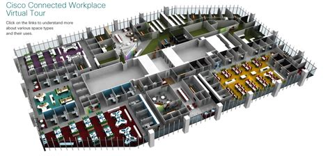 Open Plan Workstation : Cisco Connected Workplace